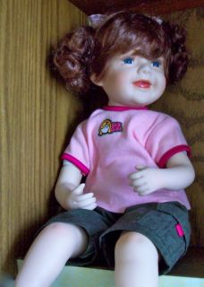 Collectible Doll Duck House Doll Collection Red Head SK8 Girl