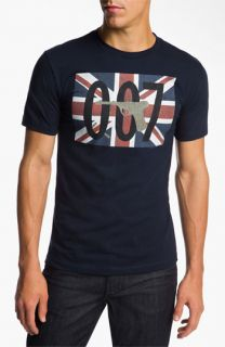 Topless 007 Union Jack T Shirt