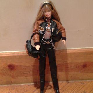 Harley Davidson Barbie Doll 4 Collector Edition