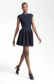 RED Valentino Knit Cap Sleeve Dress