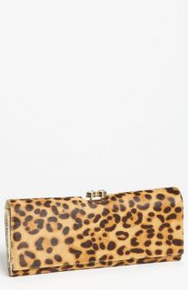 Ted Baker London Crystal Bobble   Extra Large Calf Hair Matinee Wallet