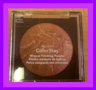 Revlon Colorstay Mineral Finishing Powder Sunkiss 030 Bronzer Makeup $
