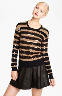 MARC BY MARC JACOBS Kay Sequin Stripe Sweater