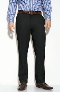 Calibrate Flat Front Cotton Pants