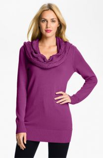 MICHAEL Michael Kors Cabled Cowl Neck Sweater