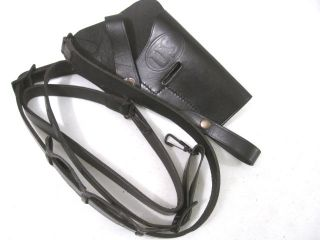 M7 Leather Shoulder Holster for Colt M1911 45ACP Pistol Repro