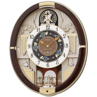 Collector Seiko Christmas Melodies in Motion Musical Wall Clock