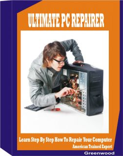 Computer Desktop Troubleshooting Repair Service Training Manual Book