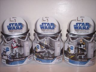 STAR WARS CLONE TROOPER FIGURES BARC ARC CLONE WITH BATTLE GEAR NEW