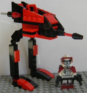 Lego Star Wars Clone Wars Custom Commander Thire ARC Trooper (9488
