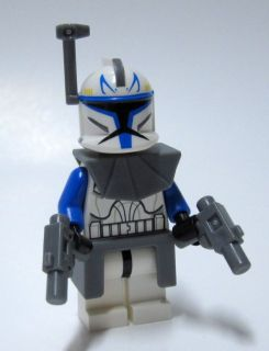 Star Wars Lego The Clone Wars 7969 Captain Rex Minifigure New Mint
