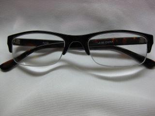 Reading Glasses Half Rim Tortoise Plastic Frame 2 75