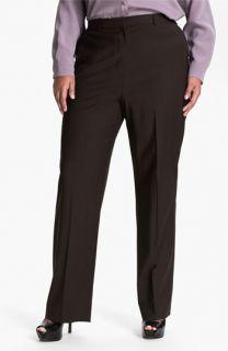 Louben Wool Blend Pants (Plus)