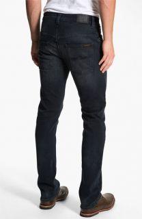 Nudie Thin Finn Extra Slim Fit Jeans (Organic Black Grey)