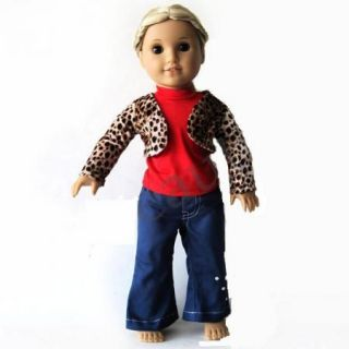 3pcs Doll Clothes Outfit for 18 American Girl New F01