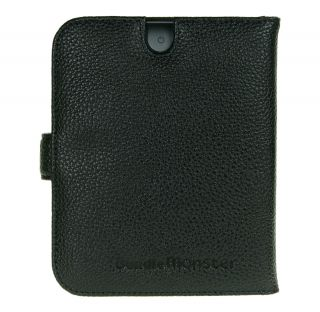 Nook Touch Genuine Leather Case Skin Screen Guard Combo GA37