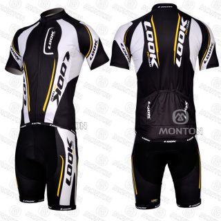 New Cycling Bicycle Bike Cloths Jersey Bib Shorts Racing Clothing Size