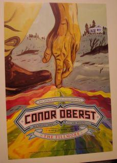 Conor Oberst 2012 Fillmore s F Poster