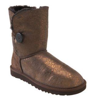UGG® Australia Bailey Button Metallic Logo Boot (Women)