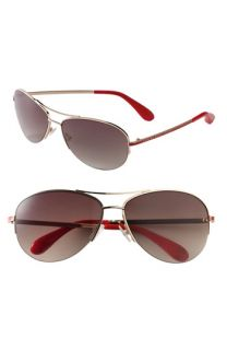 MARC BY MARC JACOBS Rimless Aviator Sunglasses