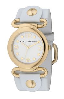 MARC BY MARC JACOBS Molly Patent Leather Round Dial Watch