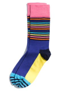 Happy Socks Stripe Block Patterned Socks