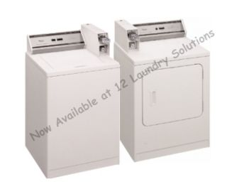 Whirlpool Heavy Duty Commercial Washer and Dryer