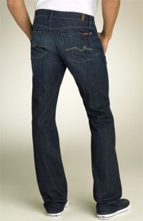 7 For All Mankind® Squiggle Pocket Bootcut Jeans (Los Angeles Dark Wash)