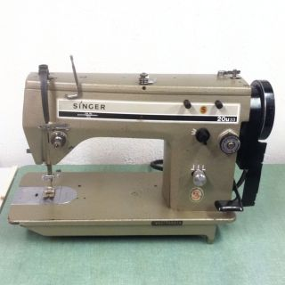 Singer 20u33 Commercial Industrial Sewing Machine Machine Only No
