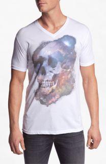 Bowery Supply Galactic Skull T Shirt