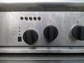 Burner Range Convection Oven Griller Stove Home Commercial Dual