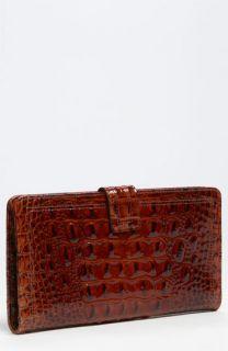 Brahmin Glossy Melbourne Patent Travel Wallet