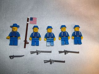 Lego Civil War Mini Figure Custom Union Cavalry Lot