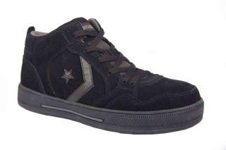 Converse C1735 Mens Live Roller Black Composite Toe Hi Top Shoe
