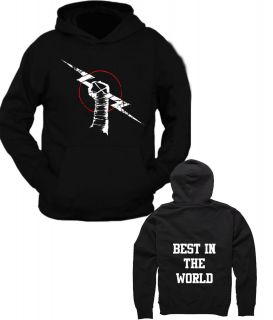 Cm Punk Best in The World New Design Black Hoodie or T Shirt