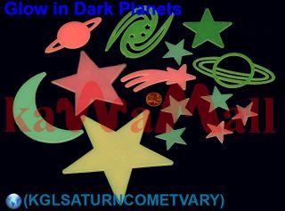 Color Star Planet 14 Glow in The Dark Baby Nursery Room