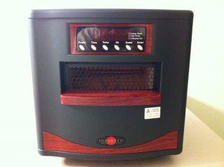 CZ Infrared Comfort Safe Electric Portable Quartz Zone Heater Furnace