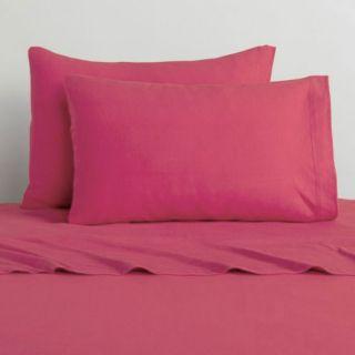 nEw 3pc HOT PINK TWIN Single SHEET SET   Bright Solid Sheets