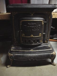 Antique Glenwood Modern Parlor Stove 225