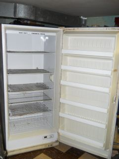 Imperial Upright 20 8 CU Heavy Duty Commercial Freezer WHITE