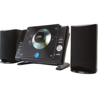 Coby CXCD380 Micro CD Player Stereo System with PPL AM/FM Tuner