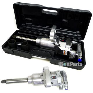 Commercial 1 Drive Air Impact Wrench Gun Long Shank Truck Tires New