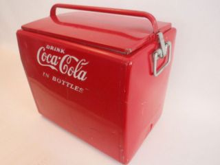 1950s Coca Cola Cavalier Ice Chest Cooler Box