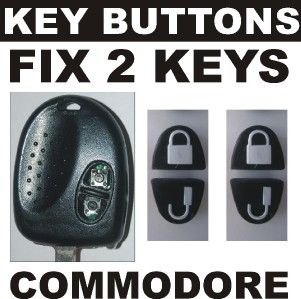 holden commodore 4 key buttons repair 2 key remotes