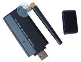 Wireless Video 4CH Camera USB Receiver DVR Home Security CCTV System
