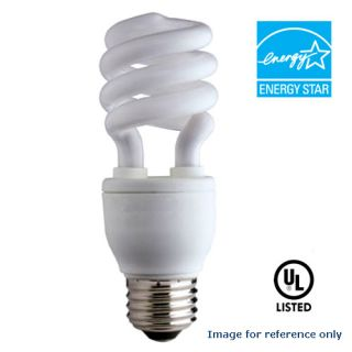 2700k Mini Twist CFL Bulb 20 watts 120 V COMPACT FLUORESCENT 20 W LAMP