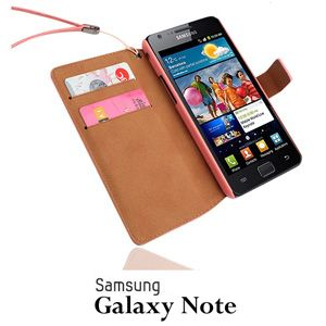 New Phone Codi Card Diary Leather Case for Samsung i9220 Galaxy Note