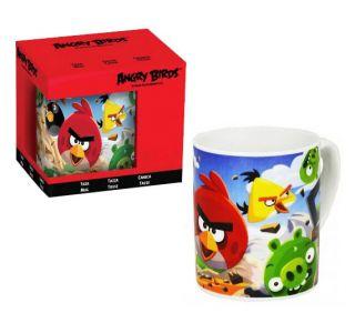 Rovio Angry Birds Coffee Tea Mug 8oz Ceramic Porcelain Mug Cup in Gift