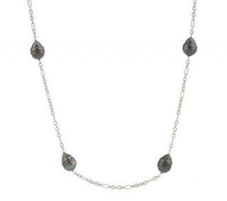 Honora Cultured Tahitian Pearl Status Link Graduated 36 Necklace
