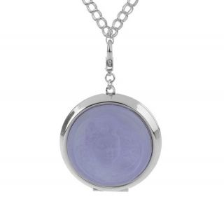 Kirks Folly Seaview Moon or Dream Angel Locket with 32 Chain